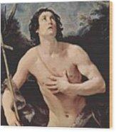 John The Baptist 1640 Wood Print