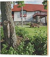 John Wingate Weeks Estate - Lancaster Nh Wood Print