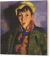 Johnnie Patton 1924 Wood Print