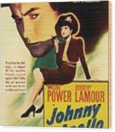 Johnny Apollo 1940 Wood Print