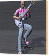 Johnny Guitar 2 Wood Print