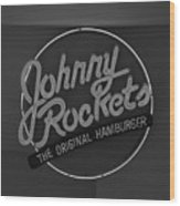 Johnny Rockets Wood Print