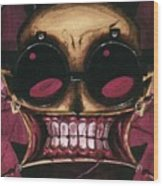 Johnny The Homicidal Maniac Wood Print