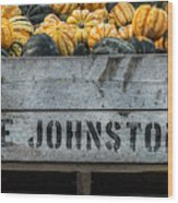 Johnston Fruit Farms Wood Print