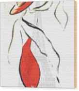 Joie De Vivre Wood Print