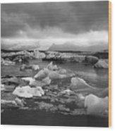 Jokulsarlon Glacier Lagoon Iceland 2041 Wood Print