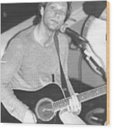Jon Bon Jovi Acoustic Wood Print