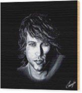 Jon Bon Jovi - It's My Life Wood Print