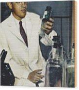 Jonas Salk (1914-1995) Wood Print