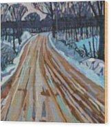Jonas Street Wood Print