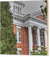 Jonesborough Courthouse Tennessee Wood Print