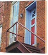 Jonesborough Tenessee - Upstairs Neighbors Wood Print