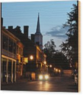 Jonesborough Tennessee 10 Wood Print