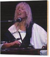 Joni Mitchell 02 Clarkston Michigan 2000 Wood Print