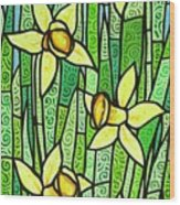 Jonquil Glory Wood Print