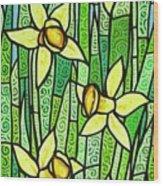 Jonquil Glory Wood Print