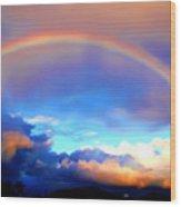 Jon's Rainbow Wood Print