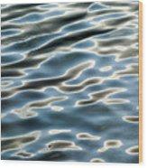 Jordan Pond  Ripples 1 Wood Print