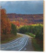 Jordan Valley Grandeur Wood Print