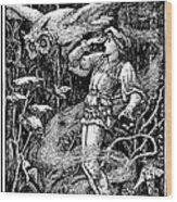 Jorinde And Joringel Wood Print
