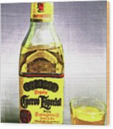 Jose Cuervo Shot 2 Wood Print