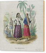 Josefa Martines Et Panchita Reyes Wood Print
