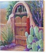 Josefina's Gate Wood Print