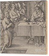 Joseph Interprets The Dreams Of The Pharaoh Wood Print