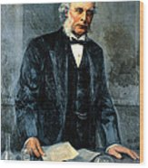 Joseph Lister, Surgeon And Inventor Wood Print