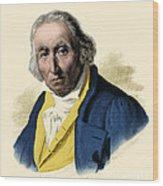 Joseph-marie Jacquard, French Inventor Wood Print