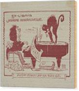 Joseph Monsalvatje Wood Print