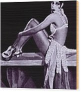 Josephine Baker 1906-1975, African Wood Print