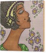 Josephine Wood Print