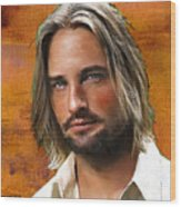 Josh Holloway Wood Print