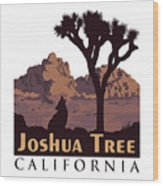 Joshua Tree. Wood Print