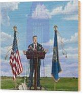Journey Of A Governor Dave Heineman Wood Print