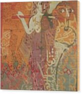 Journey With Ishtar  Wood Print