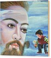 Journey With Jesus Wood Print