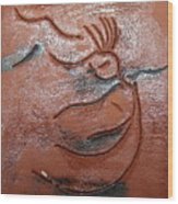 Journeys - Fleeing 25 - Tile Wood Print