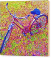 Joy, The Bike Ride Wood Print