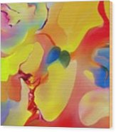 Joy And Imagination Wood Print