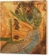 Joy Flowing - Tile Wood Print