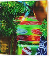Joy Of Christmas 1 Wood Print