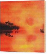Joy Of The Sun Wood Print