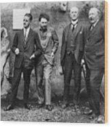 Joyce, Pound, Quinn & Ford Wood Print