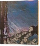Joycean Night Wood Print