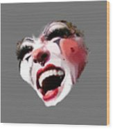 Joyful Klown Wood Print