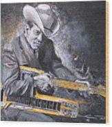Jr. Brown Wood Print