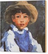 Juan Also Known As Jose No 2 Mexican Boy 1916 Wood Print