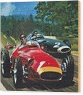 Juan Manuel Fangio Wood Print